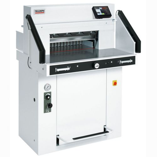 MBM Triumph 5560 Automatic, Programmable, Hydraulic Paper Cutter