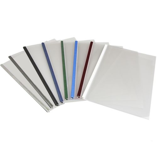 UniBind White UniCover Flex Thermal Binding Covers Image 1