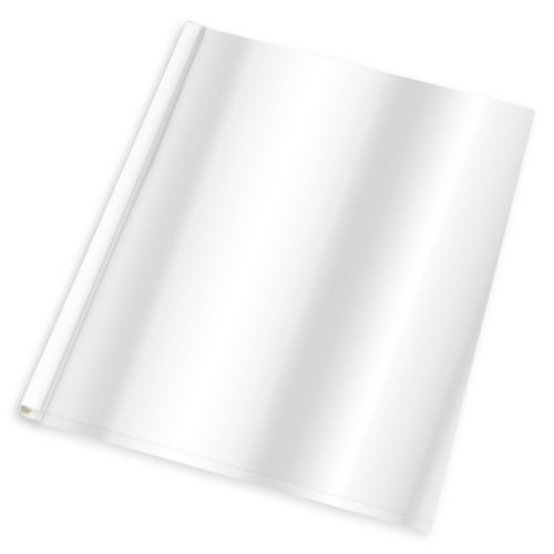 White UniCover Flex 120 (60/Pk) Item#08UCFLS120WH
