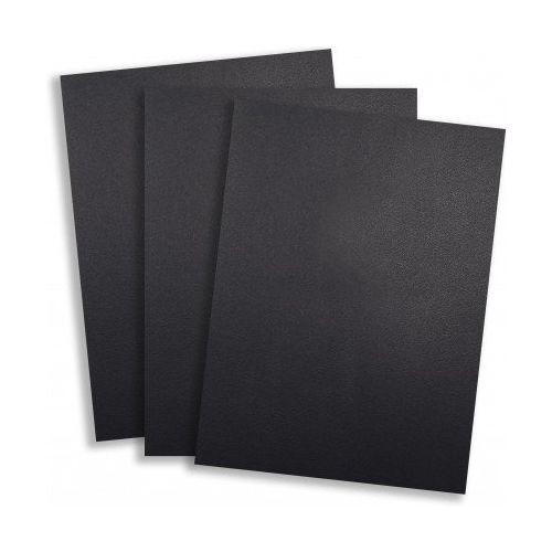 Standard 15pt Black Vinyl Report Covers (Pack of 100) Image 1