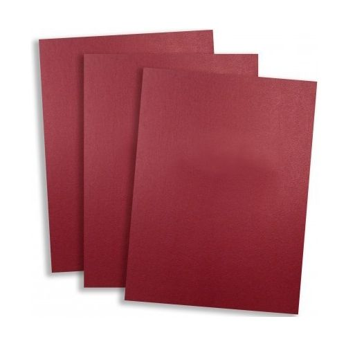 Standard 15pt Red Vinyl Report Covers (Pack of 100) Image 1