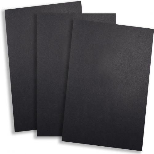"Black Vinyl 9"" x 11"" Report Covers [No Window, Round Corners, Unpunched] (100pk) Item#030206BKBB"