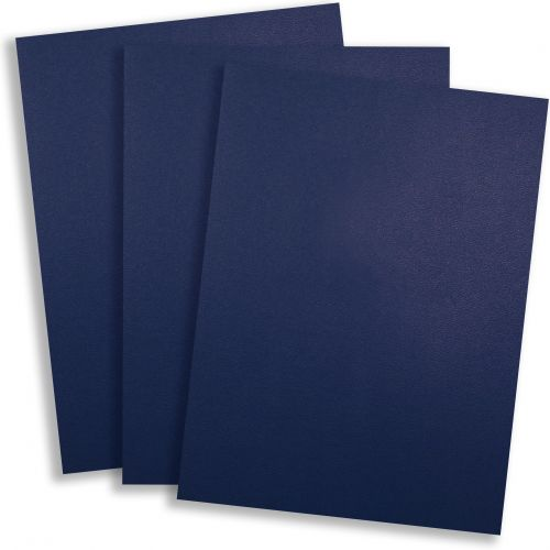 Royal Blue Vinyl Report Covers