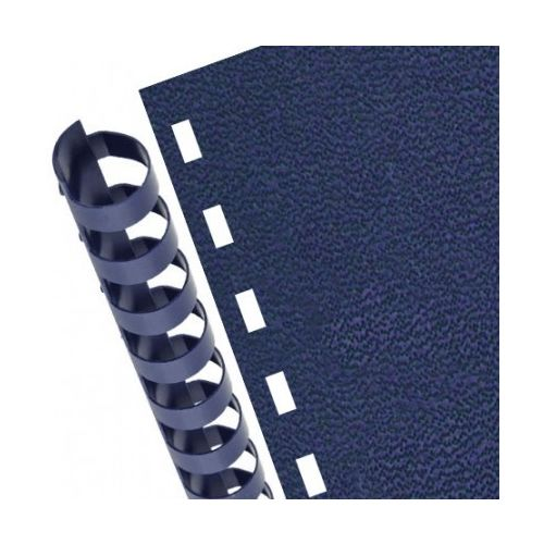 Plastic Comb & Spiral-O Wire Binding Pre-Punched Vinyl Covers (Pack of 100)