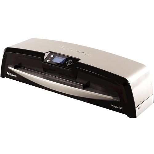 "Fellowes Voyager 125 12.5"" Pouch Laminator with Starter Kit- 5218601 Image 1"