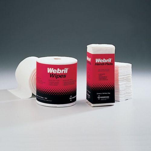 """Webril® 8"""" x 8"""" Wipes [100 wipes/roll, 8 rolls/case] Item#05LIKENWEB88"""