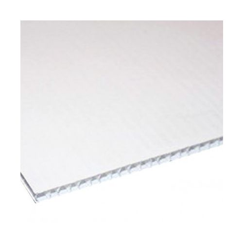 White Plain Corrugated Plastic Boards (Box of 10) Image 1