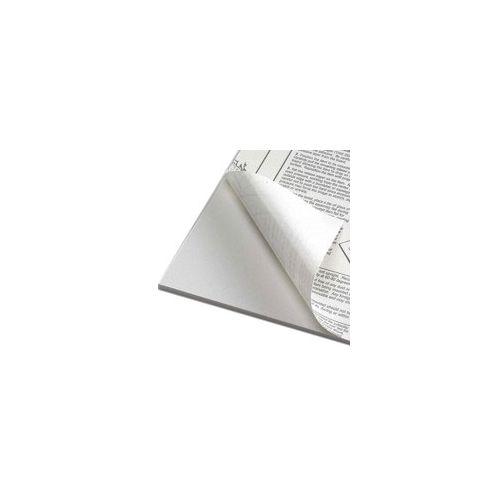 "8 ½"" x 11"" White Self-Stick Foam Boards [1 Side Adhesive] (10/Bx) Item#80SSFB8511W"