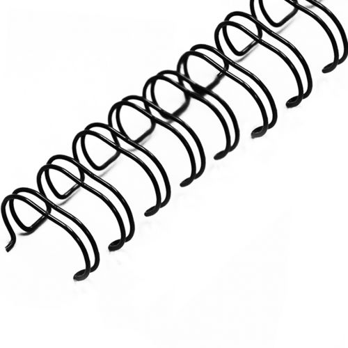 "3/4"" Black Wire-O® Binding Supplies [2:1 Pitch]"