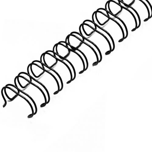 "7/16"" Black Wire-O® Binding Supplies [2:1 Pitch]"